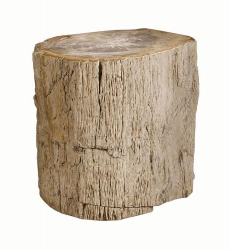 Petrified Wood Side Table ~ One room challenge fall edition week four the