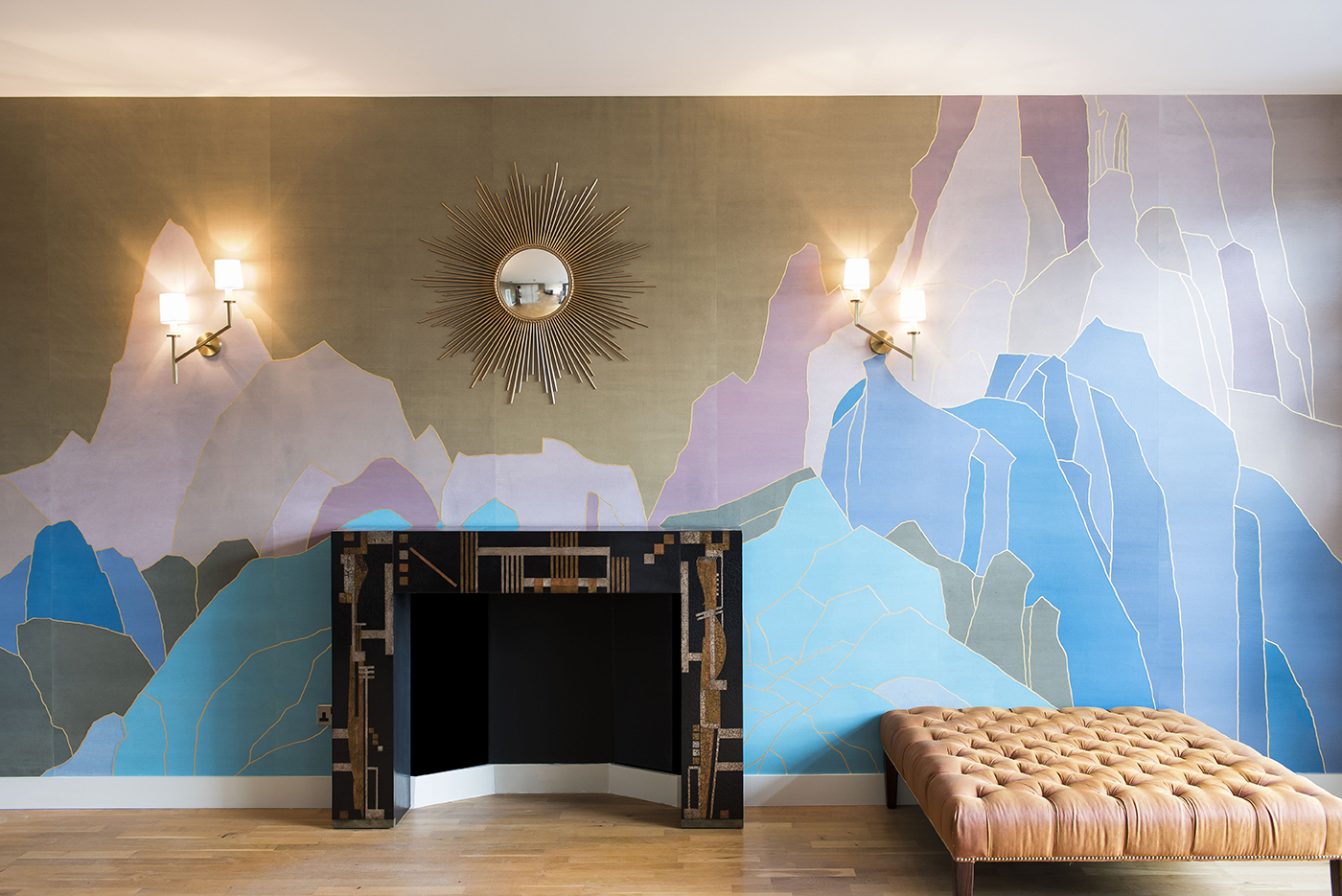 How To Wrap A Room In Art | The Luxury of Handpainted