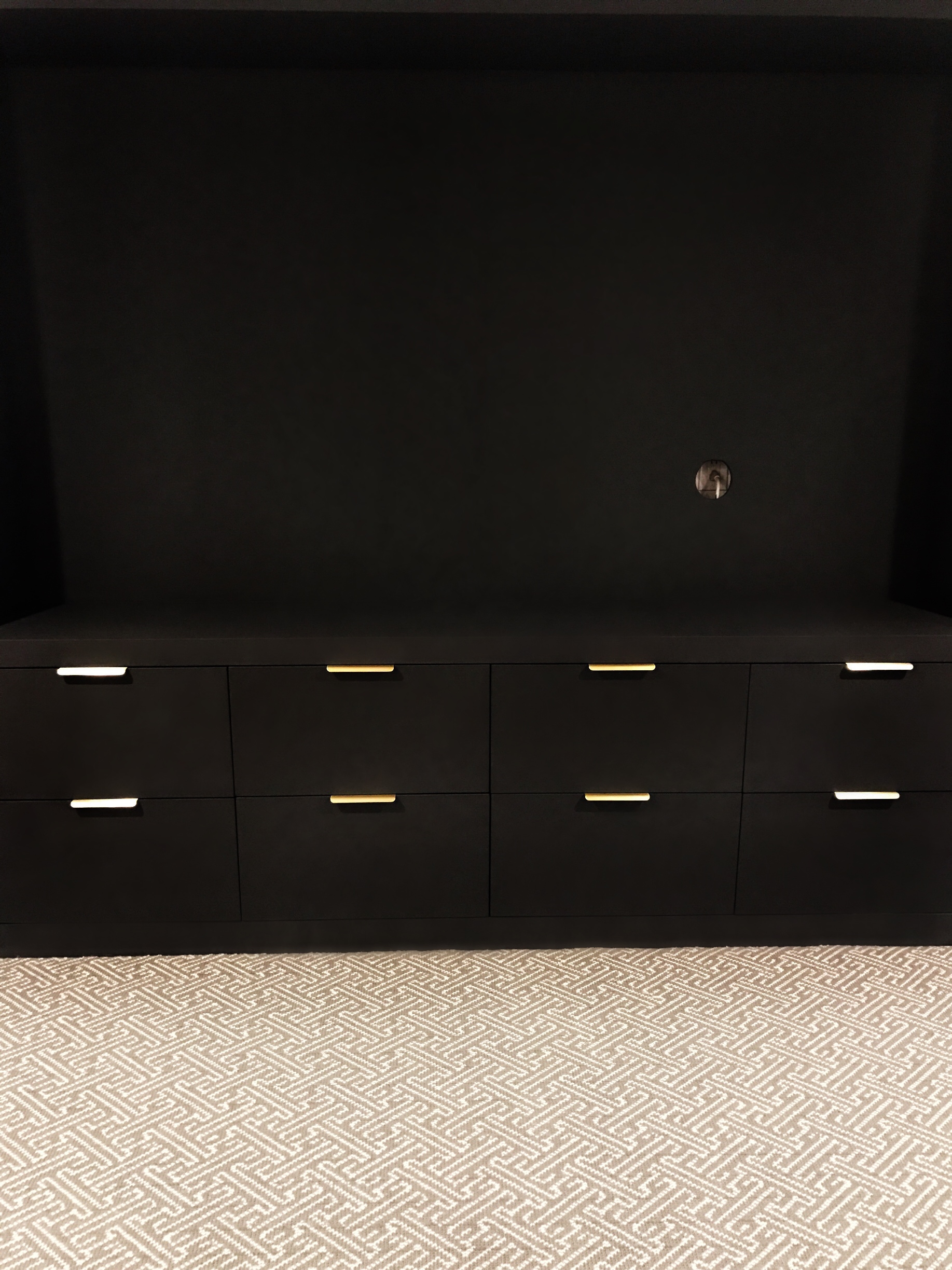 media-room-built-in-farrow-and-ball-pitch-black-upper-canada-specialty-hardware-brass-karastan-leighland-wool-graphite