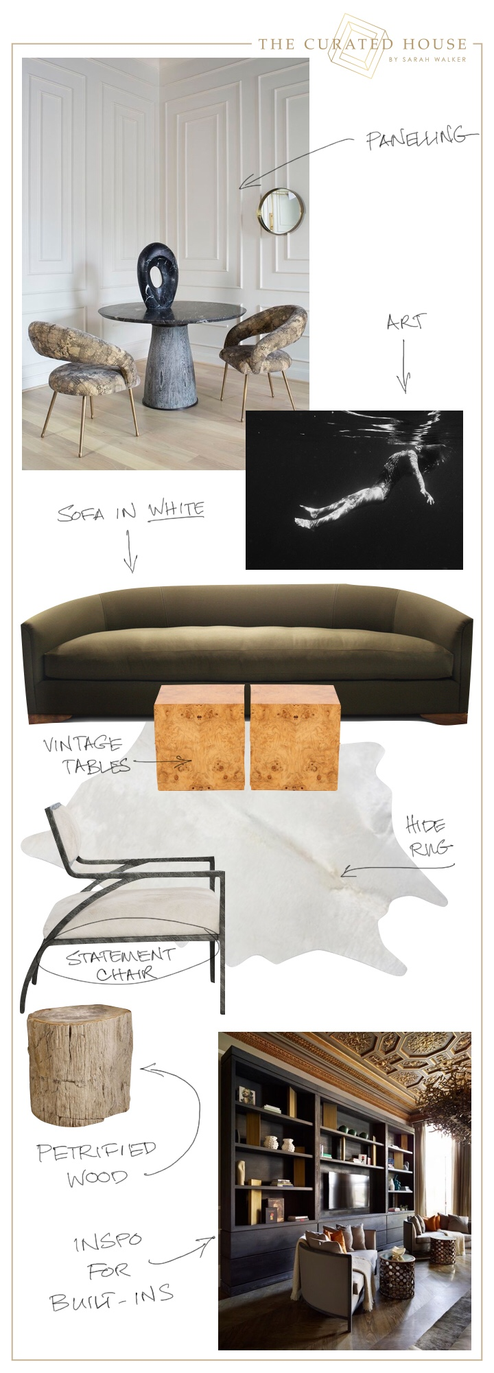 media room mood board*