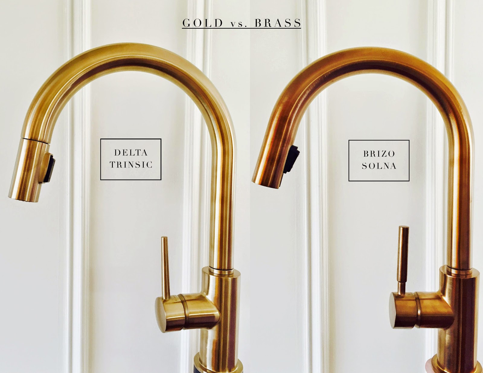 THE ONE ROOM CHALLENGE | Week Three Update | Gold vs. Brass - The Curated House